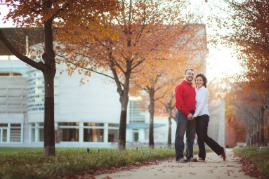 Engagement Session at John Paul 2 Memorial in DC Petruzzo Photography 24
