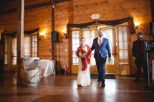 Bright Wedding On a Dreary Day at Linganor Wines 56