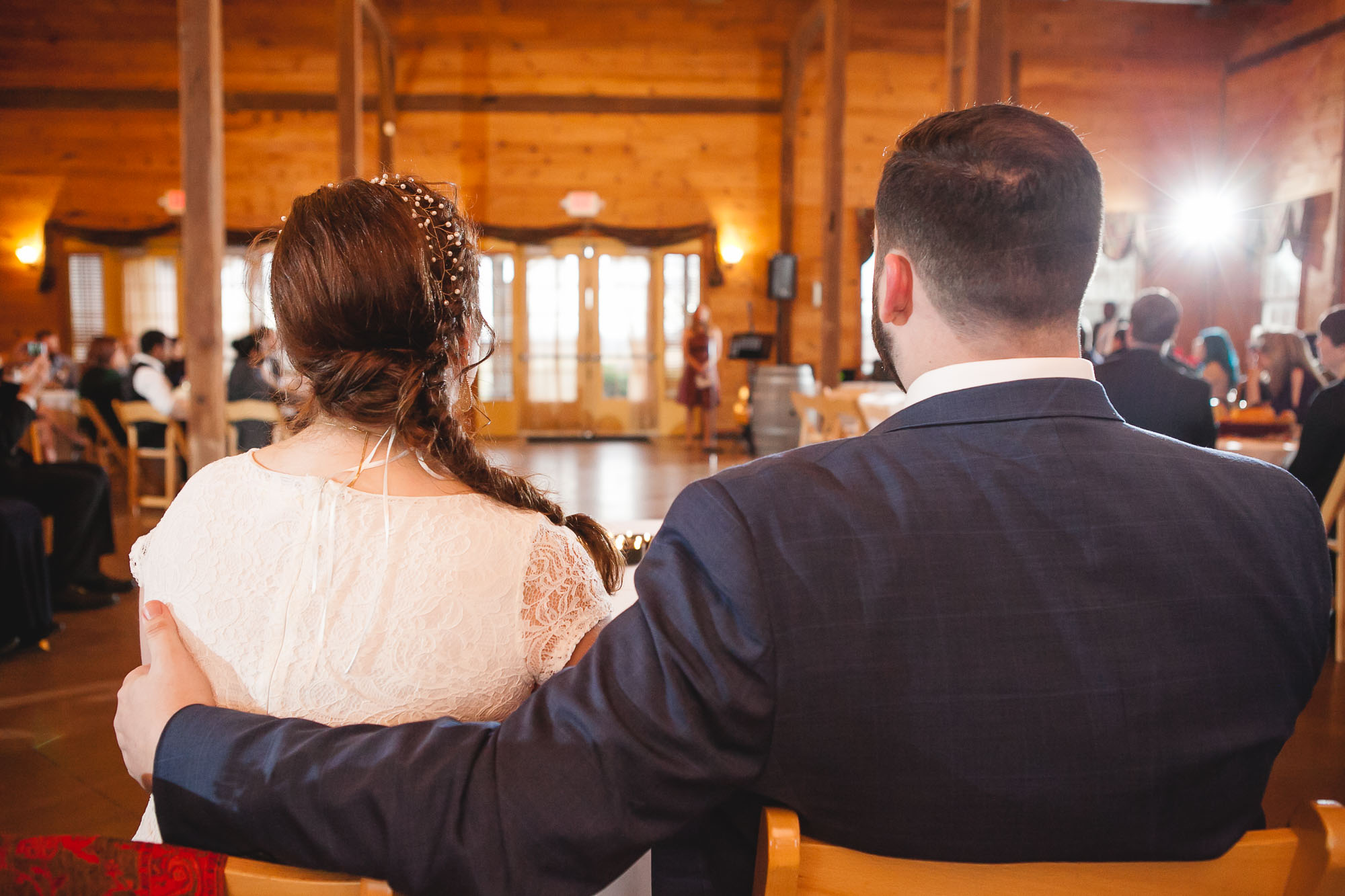Bright Wedding On a Dreary Day at Linganor Wines 63