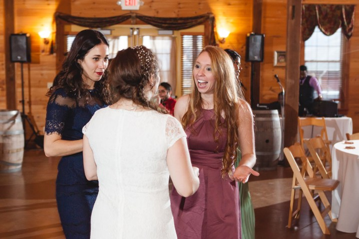 Bright Wedding On a Dreary Day at Linganor Wines 92
