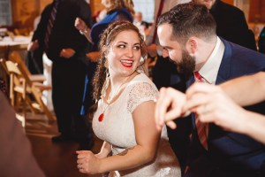 Bright Wedding On a Dreary Day at Linganor Wines 94
