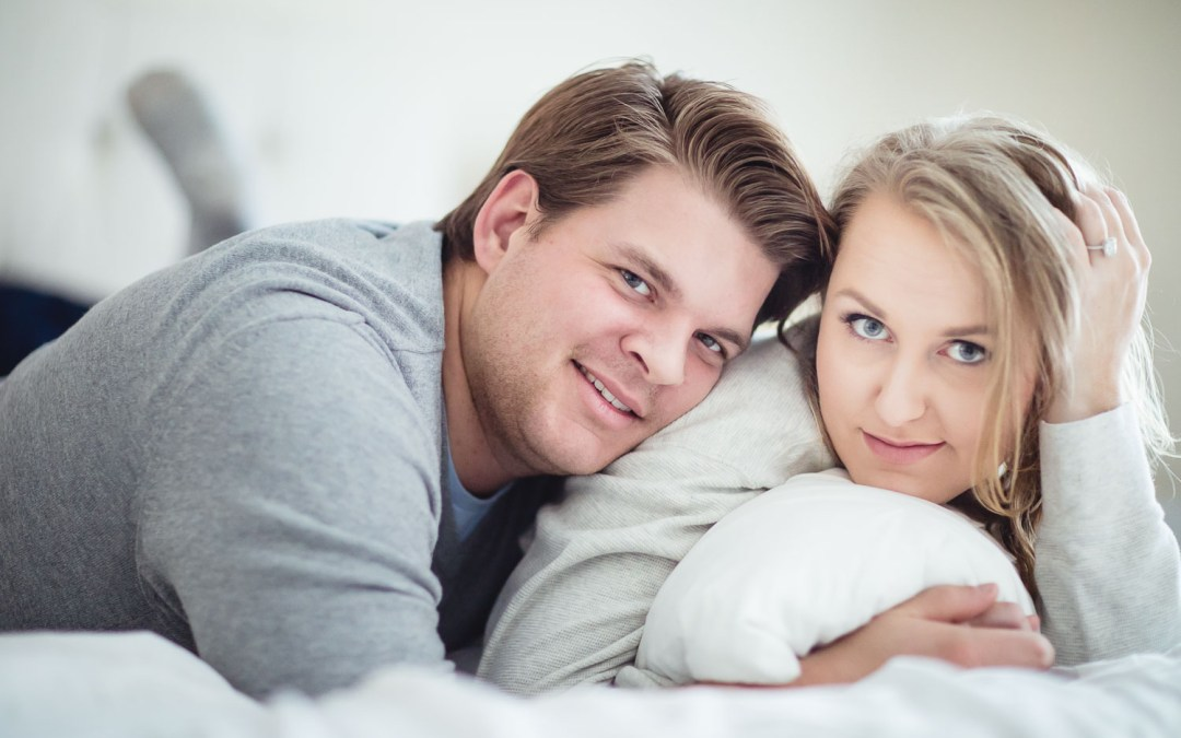 An Engagement Session at Home
