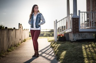 Senior Portraits at Kinder Farm Park with Greg Ferko 16