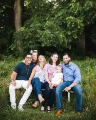 A Multi-Family Portrait Session at Irvine Nature Center in Owings Mills 26