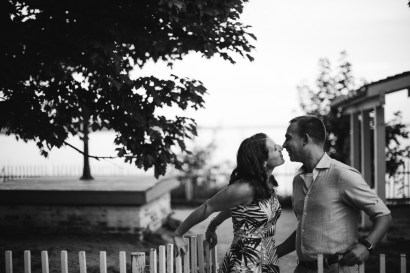 An Engagement Session Under the Woodrow Wilson Bridge Petruzzo Photography 13