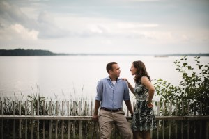 An Engagement Session Under the Woodrow Wilson Bridge Petruzzo Photography 14