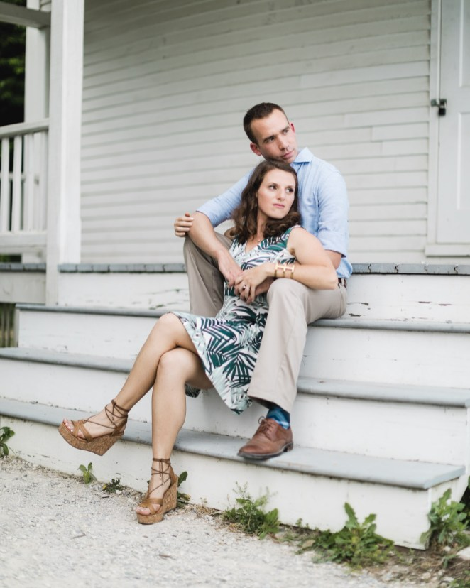 An Engagement Session Under the Woodrow Wilson Bridge Petruzzo Photography 16