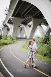 An Engagement Session Under the Woodrow Wilson Bridge Petruzzo Photography 19