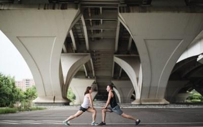 An Engagement Session Under the Woodrow Wilson Bridge
