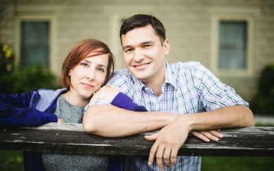 An Engagement Session at the Family Vacation Home