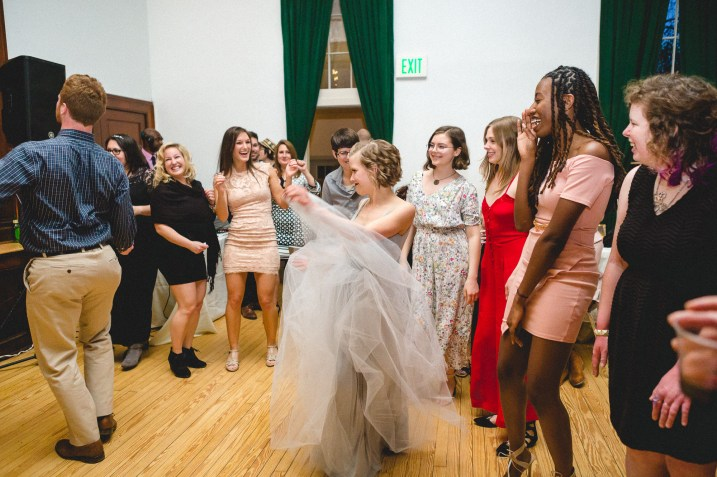 A Wedding at Historic Baldwin Hall from Greg & Erik 72