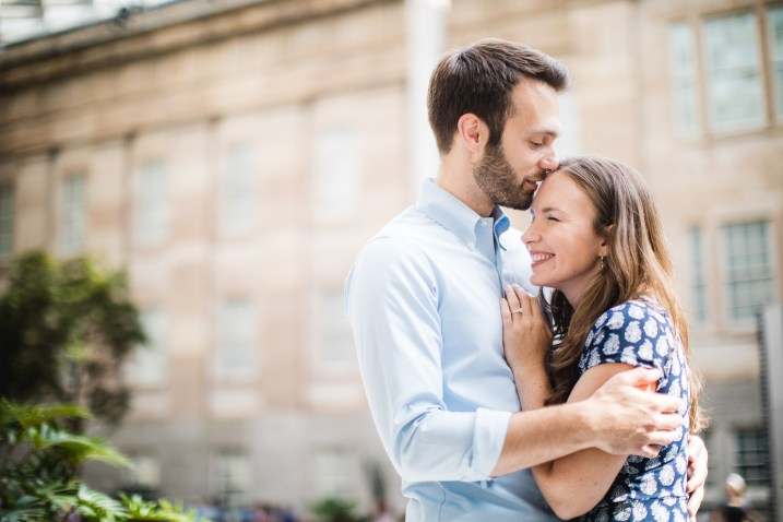 An Engagement Session Through the Halls of the National Portraits Gallery 21