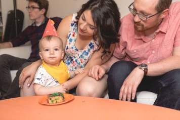 Felipe Covers This Little Guys First Birthday 31