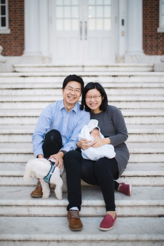 Meeting the Newborn on the Johns Hopkins Campus in Baltimore 18