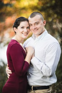 This Couple's Engagement Session in White & Maroon 06
