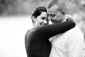 This Couple's Engagement Session in White & Maroon 07
