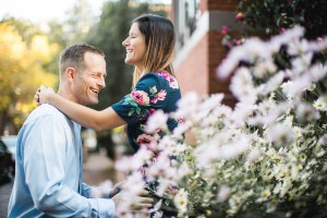 Hand & Hand & Paw Engagement Session on the Streets of Annapolis 13