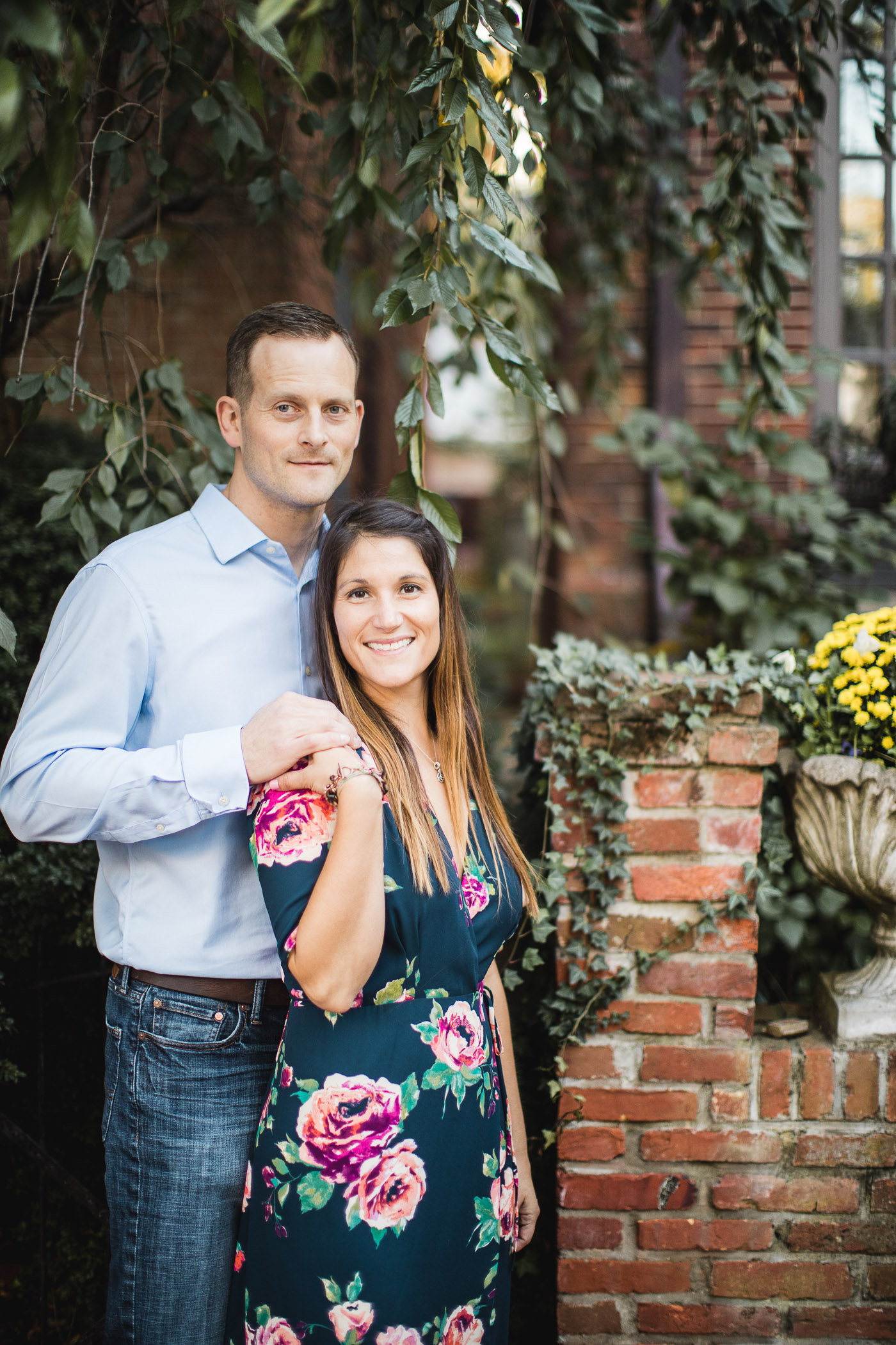 Hand & Hand & Paw Engagement Session on the Streets of Annapolis 15