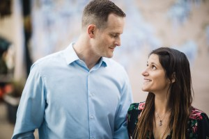Hand & Hand & Paw Engagement Session on the Streets of Annapolis 18