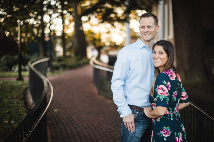 Hand & Hand & Paw Engagement Session on the Streets of Annapolis 20