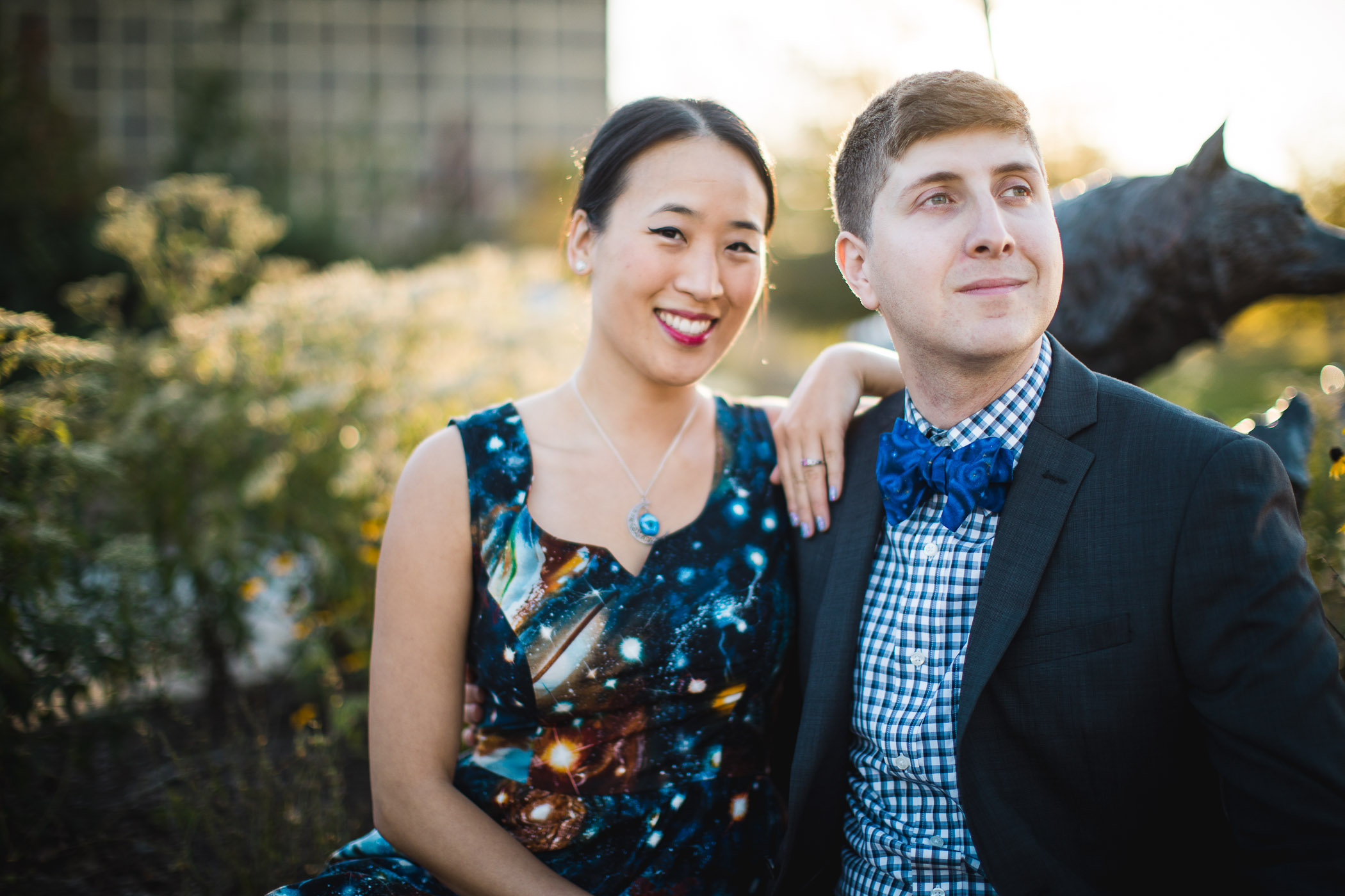 This Couple Had Their Engagement Session on Earth 17