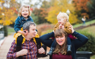 A Colorful Two-Part Autumn Family Session from Felipe