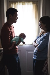A Portrait Session with a Newborn Family 08