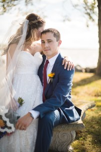 Beautiful Wedding Ceremony Formals at a Private Chesapeake Bay Lighthouse 11