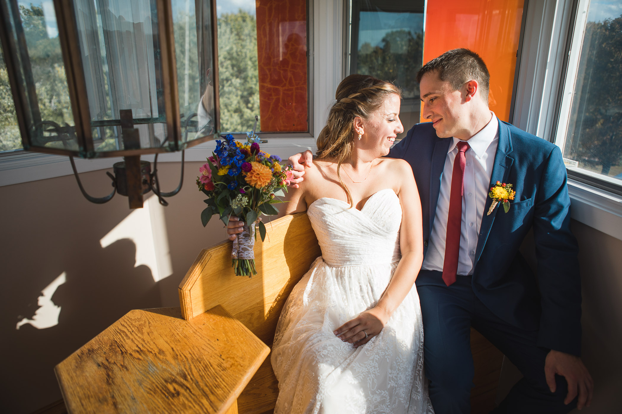 Beautiful Wedding Ceremony Formals at a Private Chesapeake Bay Lighthouse 14