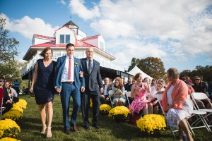 Beautiful Wedding Ceremony Formals at a Private Chesapeake Bay Lighthouse 17