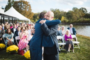 Beautiful Wedding Ceremony Formals at a Private Chesapeake Bay Lighthouse 18