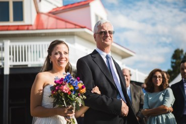 Beautiful Wedding Ceremony Formals at a Private Chesapeake Bay Lighthouse 20