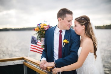 Beautiful Wedding Ceremony Formals at a Private Chesapeake Bay Lighthouse 35