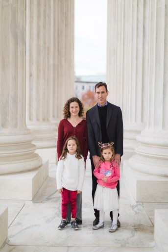 Wandering the Grounds Around the Supreme Court for This Family Portrait Session 11