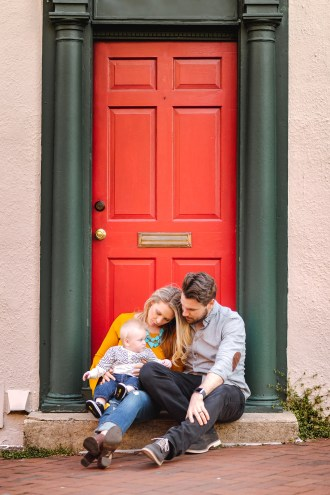 Sunset Family Portraits with Greg on the Streets of Downtown Annapolis 04