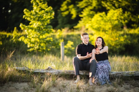 This Couple Just Got Married, Check Out Their Beach Engagement Photos 10