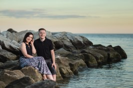 This Couple Just Got Married, Check Out Their Beach Engagement Photos 16