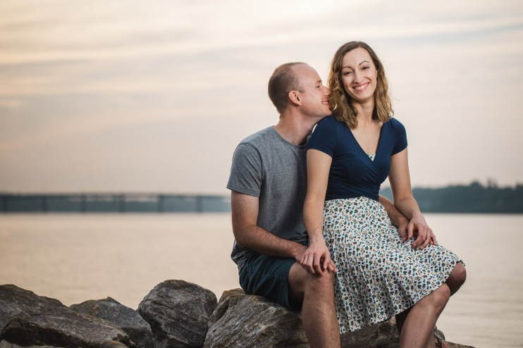 Wedding Imminent, A Low-Key Engagement Session in Annapolis 10