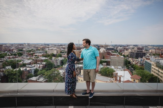 A Romantic Engagement Session from Felipe at The Kennedy Center in DC 03