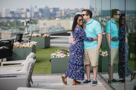 A Romantic Engagement Session from Felipe at The Kennedy Center in DC 07
