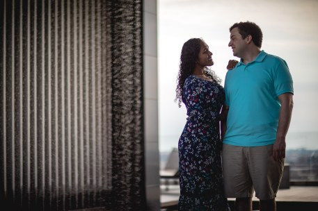 A Romantic Engagement Session from Felipe at The Kennedy Center in DC 11