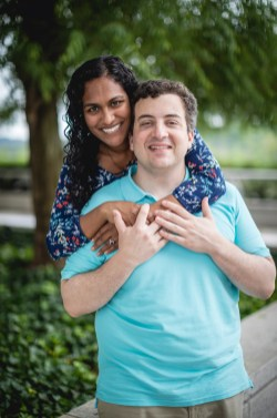 A Romantic Engagement Session from Felipe at The Kennedy Center in DC 13