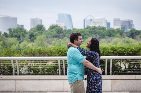A Romantic Engagement Session from Felipe at The Kennedy Center in DC 16