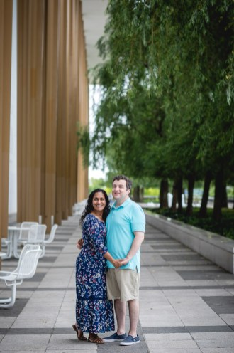 A Romantic Engagement Session from Felipe at The Kennedy Center in DC 18