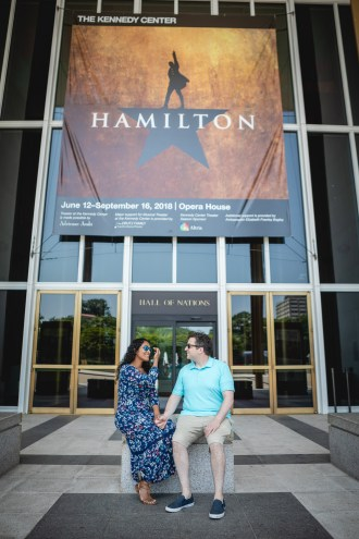 A Romantic Engagement Session from Felipe at The Kennedy Center in DC 22
