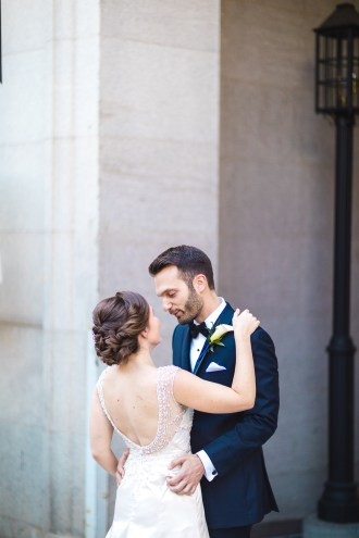 An Intimate September Wedding at The Loft at 600F & The National Portrait Gallery 15
