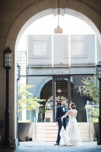 An Intimate September Wedding at The Loft at 600F & The National Portrait Gallery 16