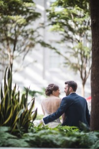 An Intimate September Wedding at The Loft at 600F & The National Portrait Gallery 19
