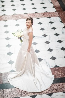An Intimate September Wedding at The Loft at 600F & The National Portrait Gallery 27
