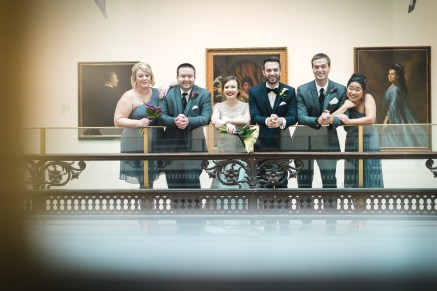 An Intimate September Wedding at The Loft at 600F & The National Portrait Gallery 33